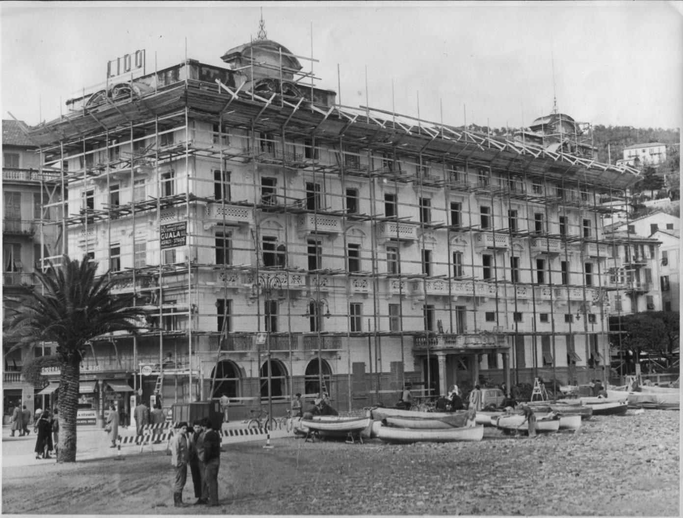 Edile Ramasco - ristrutturazione hotel lido santa margherita ligure
